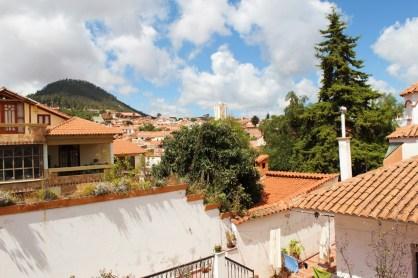 Blick über die Stadt von Sucre