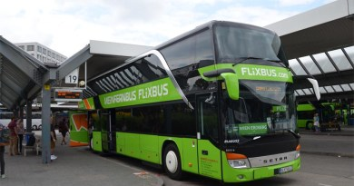 Flixbus in Berlin ZOB