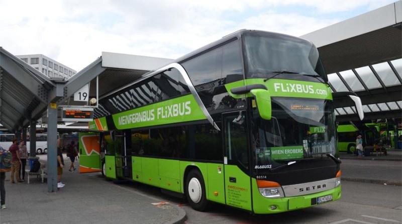Flixbus in Berlin ZOB