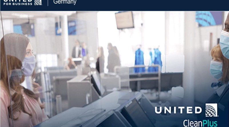 United Airlines CleanPlus