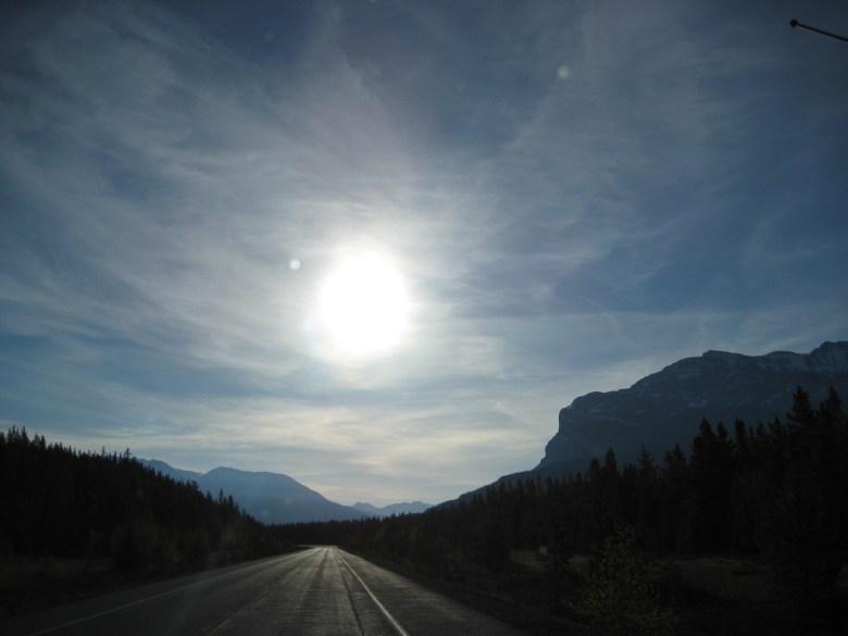 Kanada Icefields Pathway