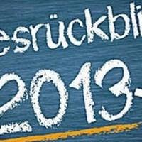 Jahresrückblick 2013
