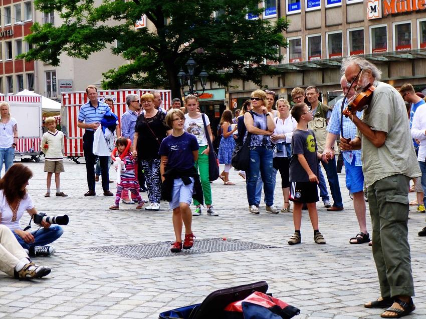 Bardentreffen Nürnberg Straßenmusik 3