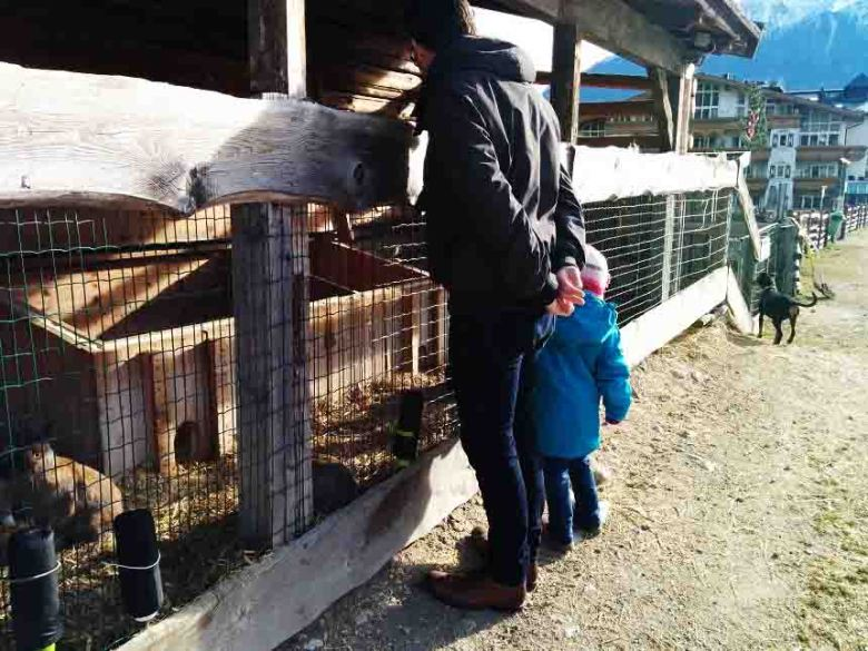 Alpenresort Schwarz mit Kindern
