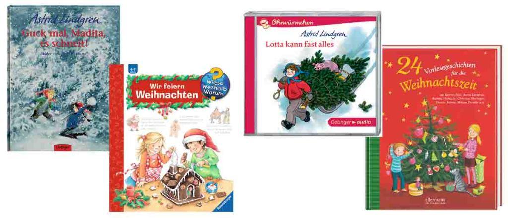 Kinderbuchtipps Weihnachten