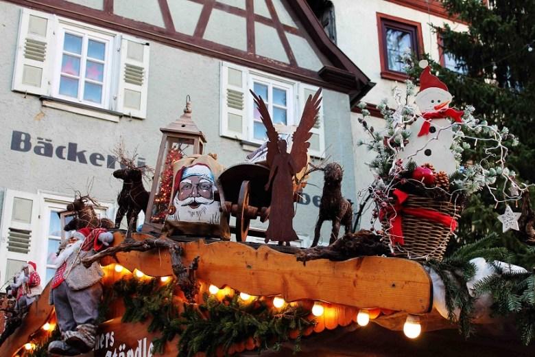 Weihnachtsmarkt Bad Wimpfen Familie