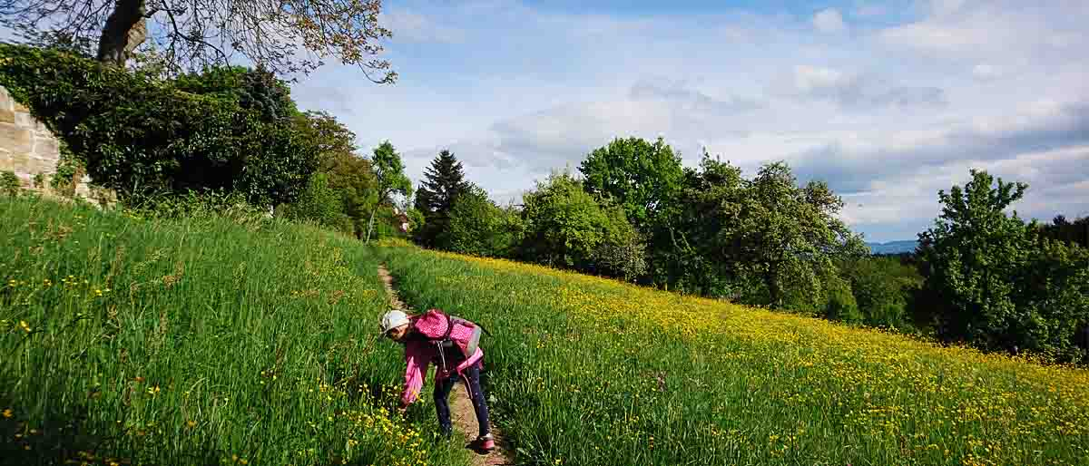 Herrenbach-Stausee mit Kindern