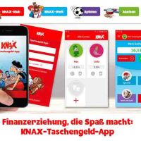 KNAX-Taschengeld-App Bewertung