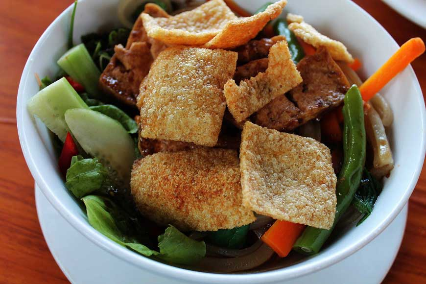 Das typische Gericht Cao Lau aus Hoi An