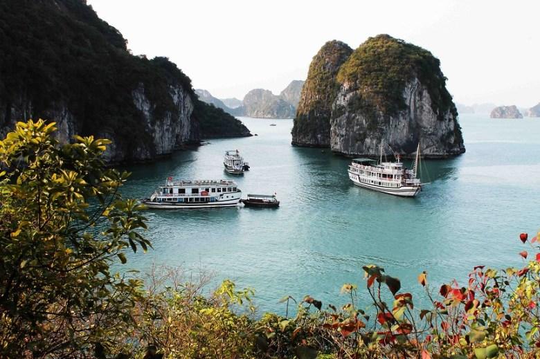 Reiseroute Baitu Bay Vietnam