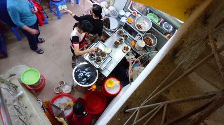 Reiseroute Vietnam Essen