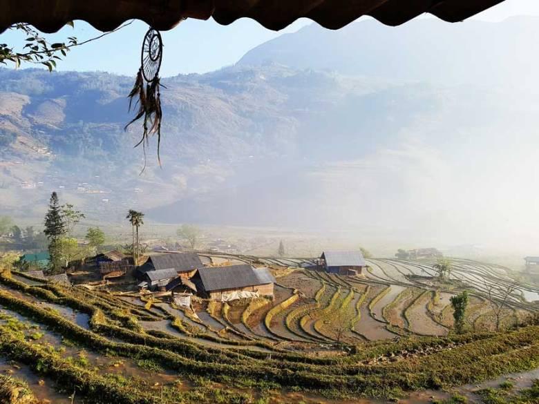 Vietnam Bergdörfer