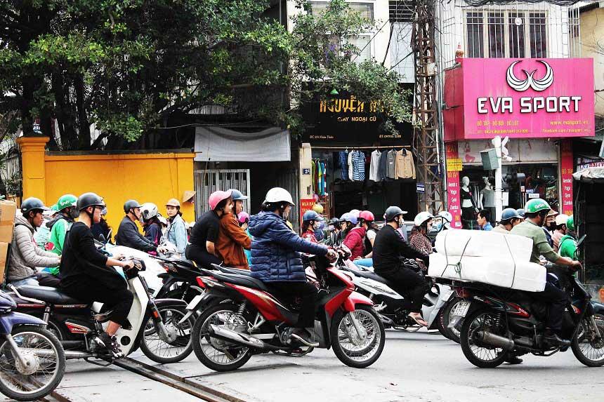 Reiseroute Vietnam Verkehr