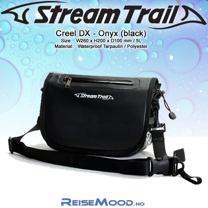StreamTrail – Vanntett skulderveske – Passage DX – Oliven