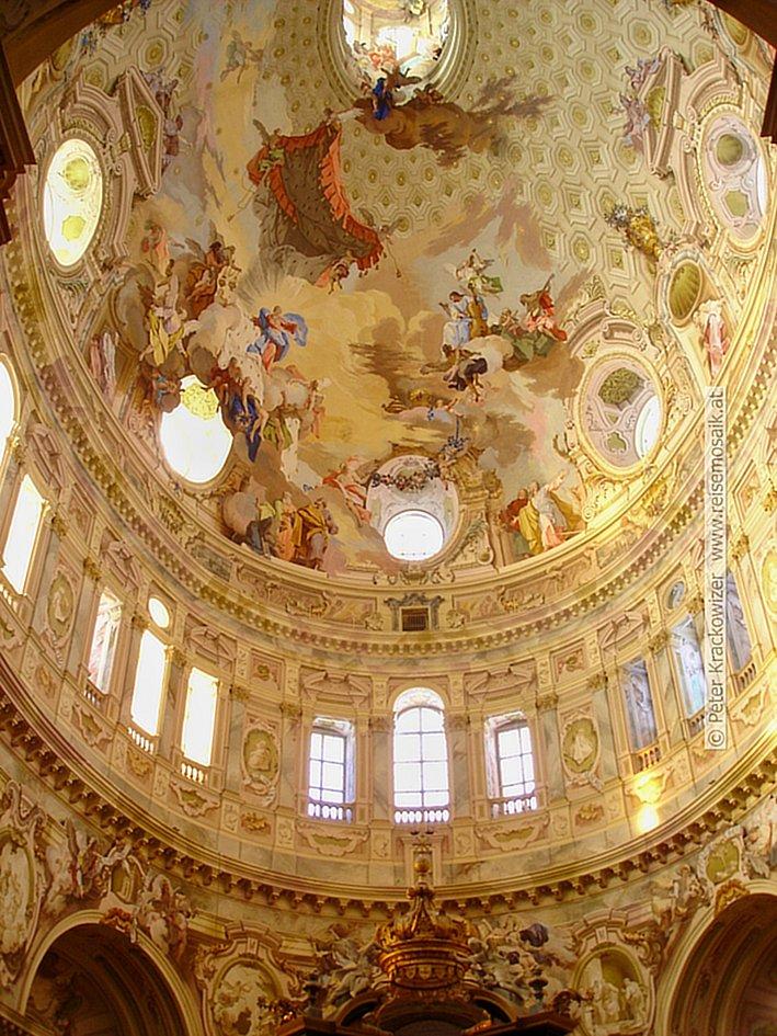 Santuario di Vicoforte, die Kuppel Piemont