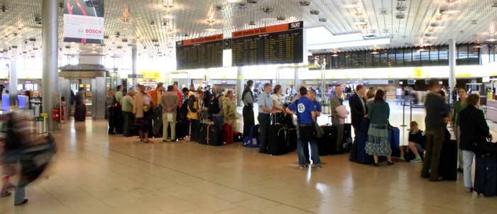 CheckIn und VorabendCheckIn am Flughafen Hannover