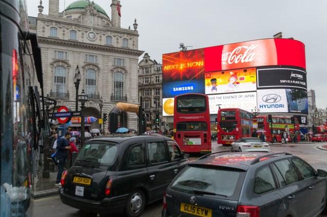 Piccadilly Circus Oktober 2015