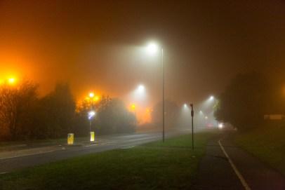 London - Nacht und Nebel