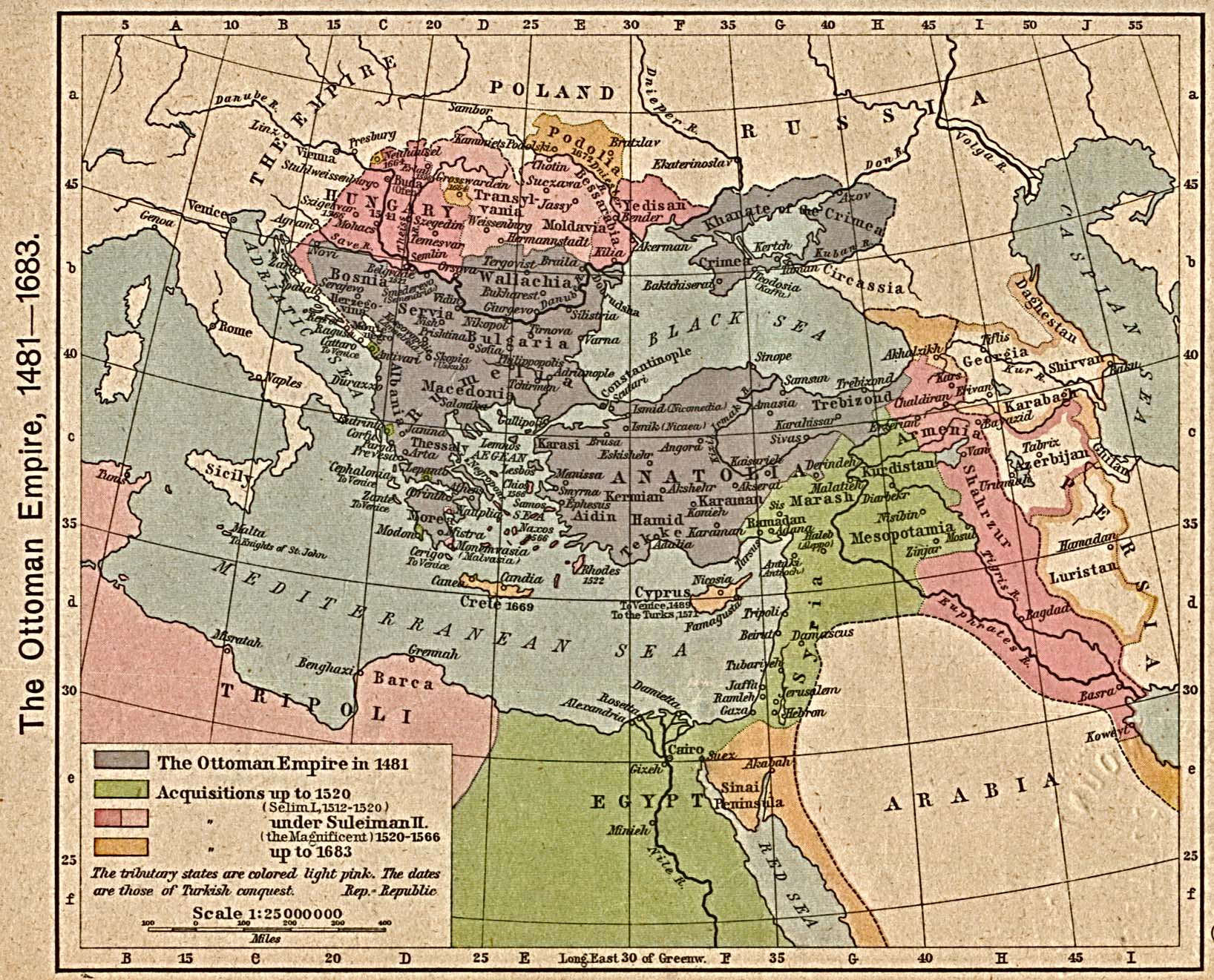 Ottoman Empire And Europe During 16th Century History At Normandale