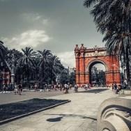 Triumpfbogen - Barcelona - Reisen mit Kids