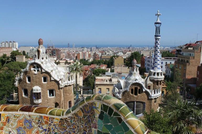 Park Grüell - Über den Dächern von Barcelona