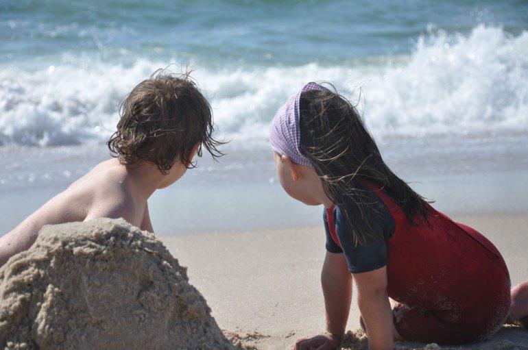 Kids am Strand - Sylt - reisenmitkids.de
