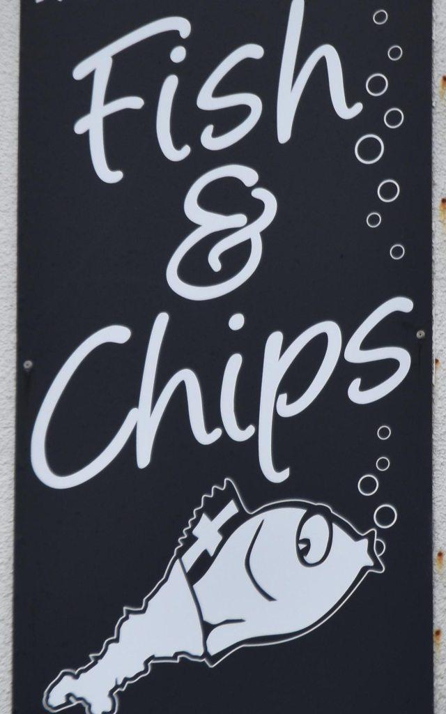 Gerne wieder: Fish & Chips!