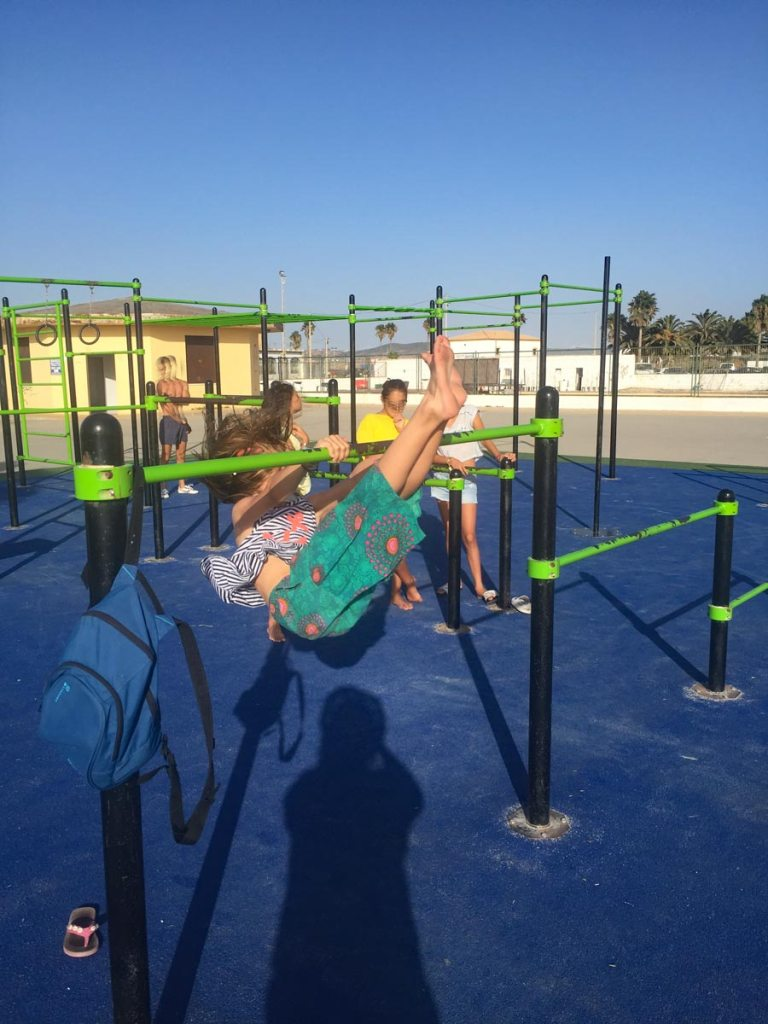 Outdoor Fitness in Conil