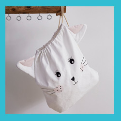 Wäschebeutel - Katze