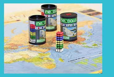 Magneten für Weltkarte