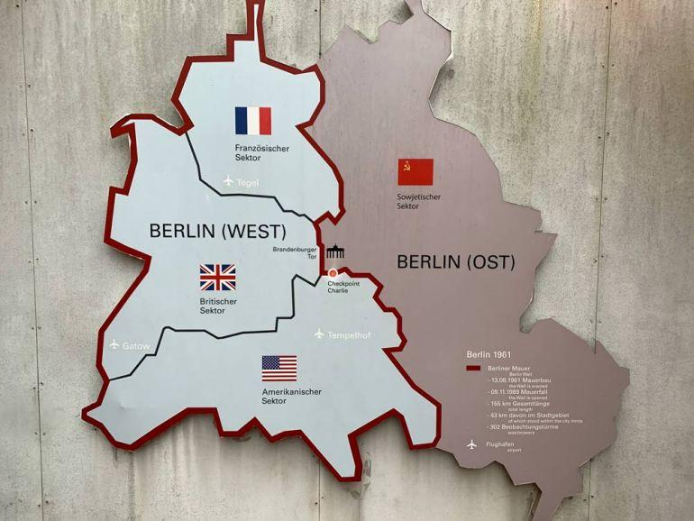 Grafik - Teilung Berlin