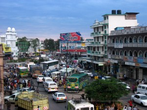 Verkehr in Mombasa