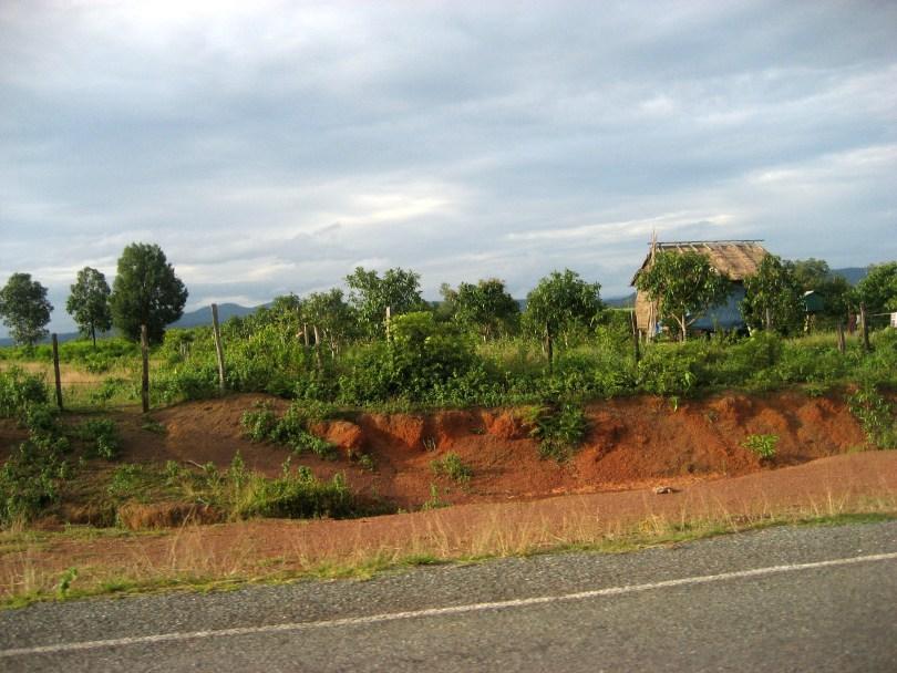 Weg von der Grenze nach Phnom Penh