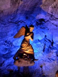 Engel in der Salzkathedrale von Zipaquirá