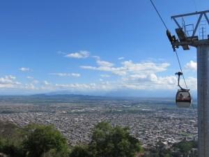 Blick vom Cerro San Bernardo