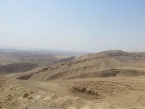 Fahrt durch den Negev