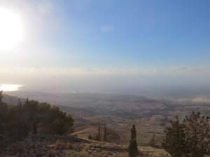 Blick auf Israel und das Westjordanland