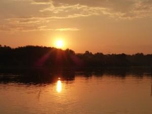 Sonnenaufgang in der Lagune