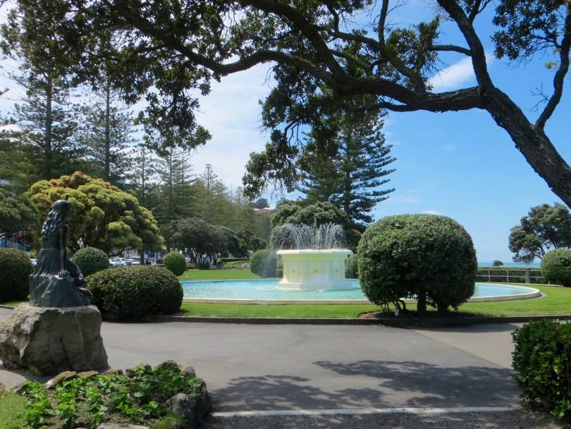 Brunnen in Napier