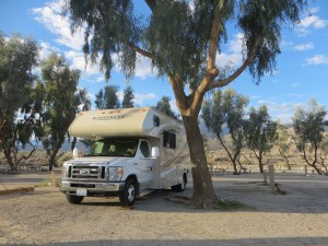 Campingplatz am Lake Cahuilla
