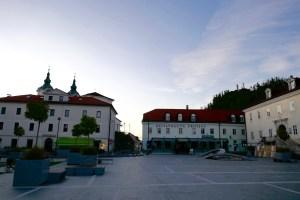 Tito-Platz in Postojna