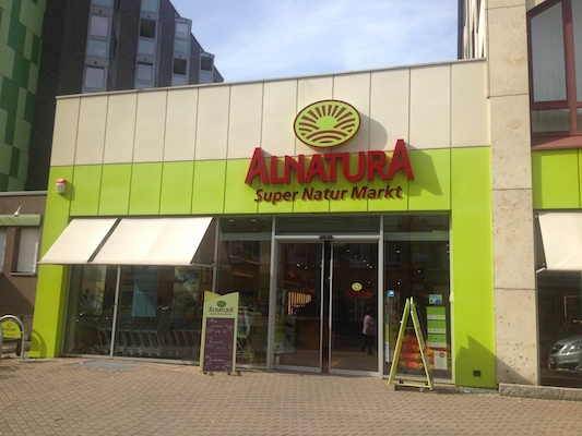 Alnatura økologiske supermarked.