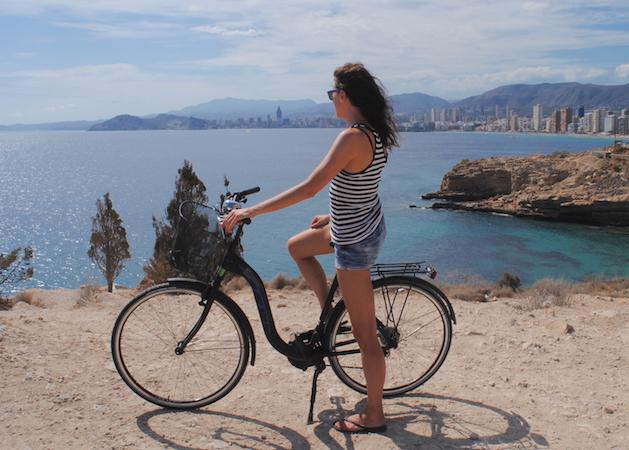 Sykkeltur i Benidorms nasjonalpark