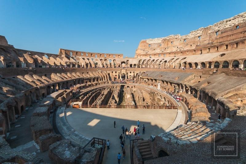Das Kolosseum von Innen