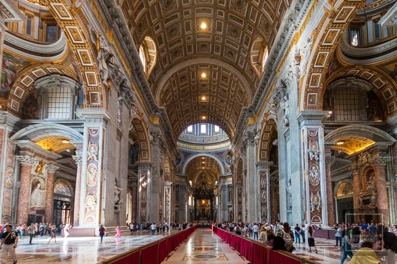 Der Petersdom von Innen