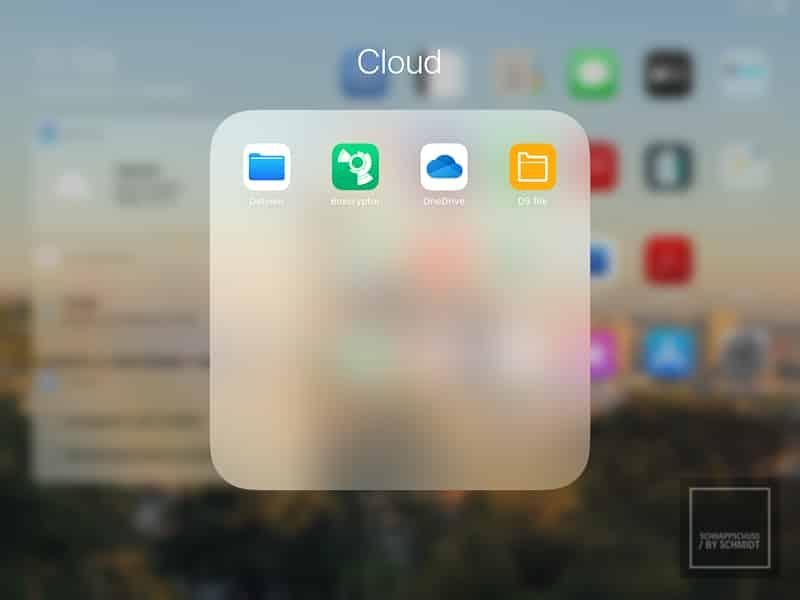 Datensicherung im Urlaub über über die Cloud