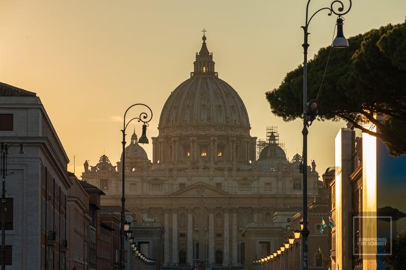Sehenswürdkeiten in Rom - Petersdom