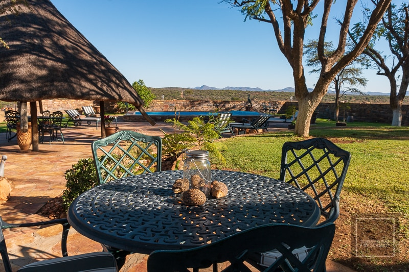 Namibia Rundreise - Namibische Farm