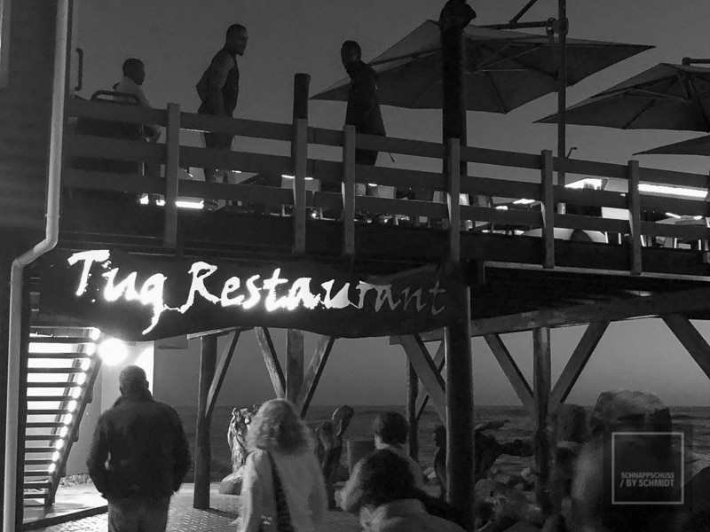 Swakopmund - Tug Restaurant