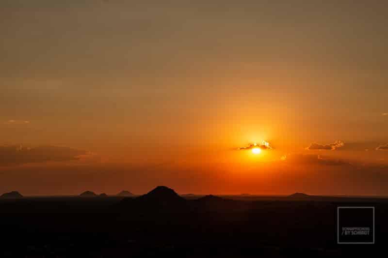 Namibia Rundreise 3 - Sonnenuntergang